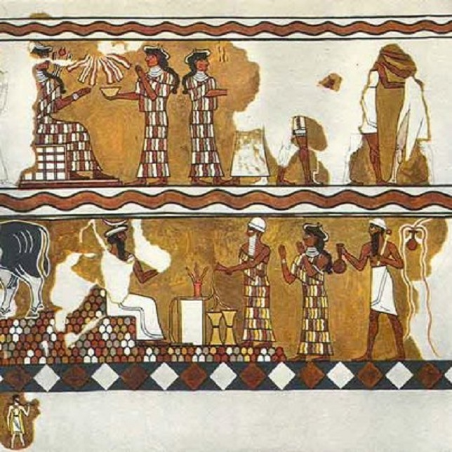 the egyptian and mesopotamian view of Egyptians also believe that there pharaohs controlled the natural world from the afterlife this is far different from mesopotamia views whose leaders had however, the rivers that the egyptians and mesopotamians used were far different from each other the egyptians lived near the nile river.