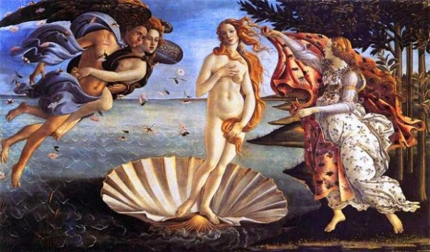 mythology-painting-birth-of-venus-1